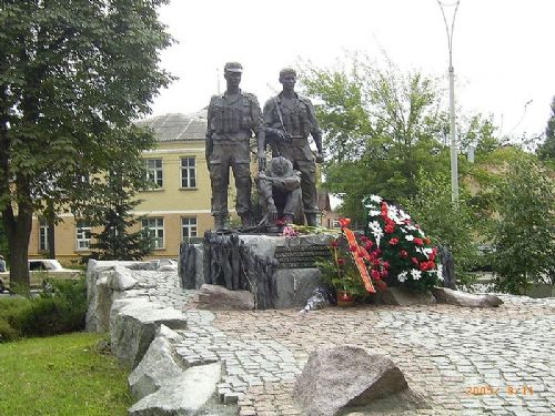 Memorials in Ukraine to the war in Afghanistan
