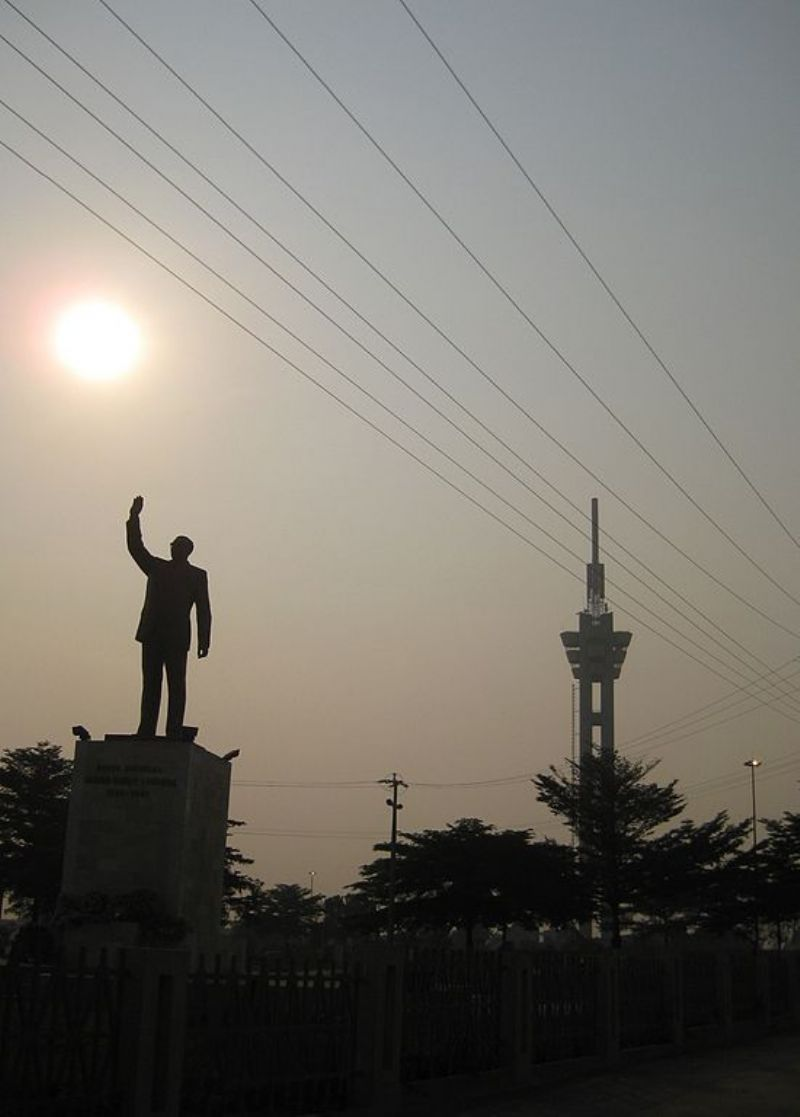 Monument to the Martyrs of Independence in Kinshasa